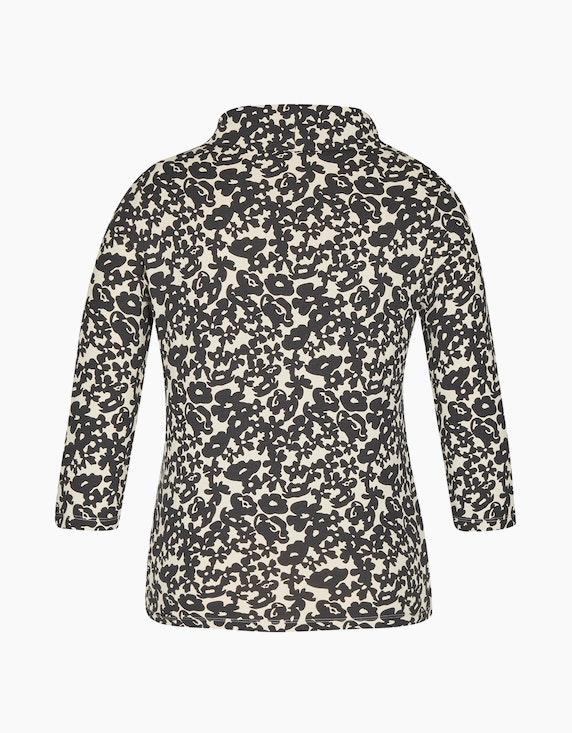 Bexleys woman Shirt mit Rollkragen und 3/4-Arm | ADLER Mode Onlineshop