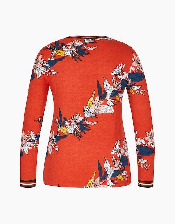 Bexleys woman Langarmshirt mit floralem Druck | ADLER Mode Onlineshop