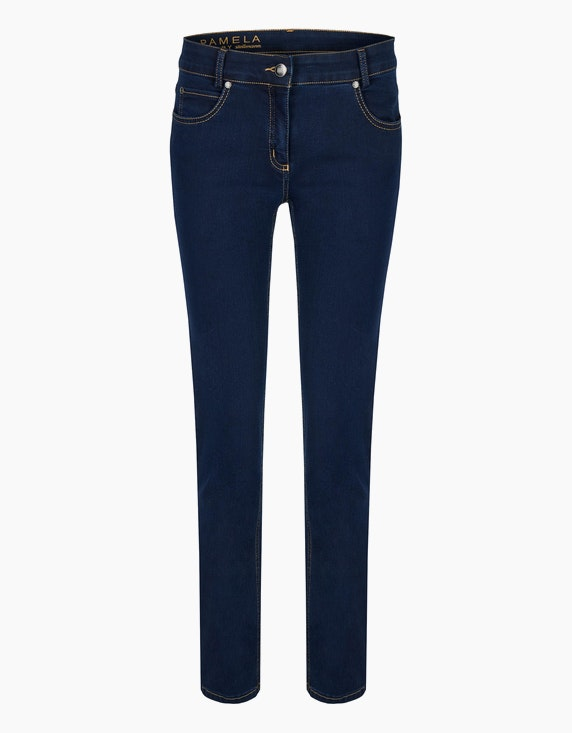 "Steilmann Woman Powerstretch-Hose ""Pamela"" in Dark Denim 