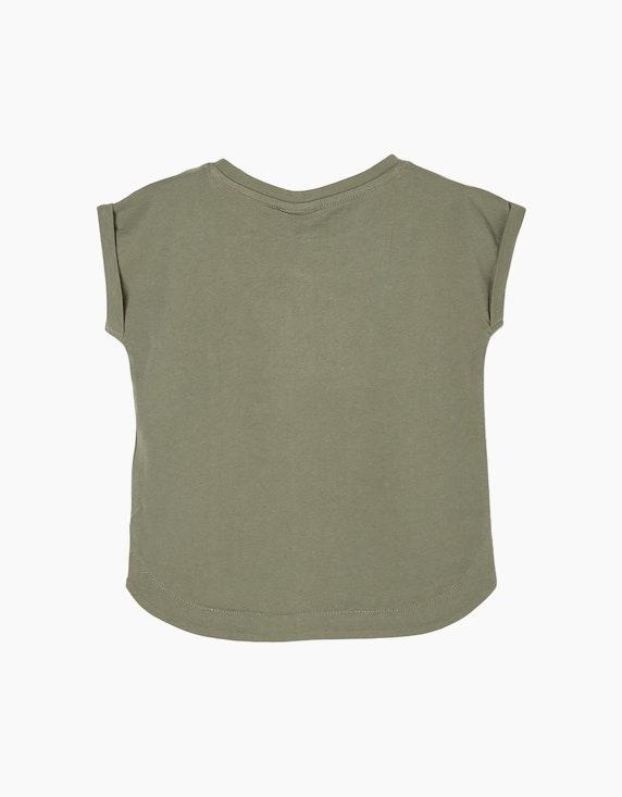 s.Oliver Mini Girls Shirt mit Pailletten-Motiv   ADLER Mode Onlineshop
