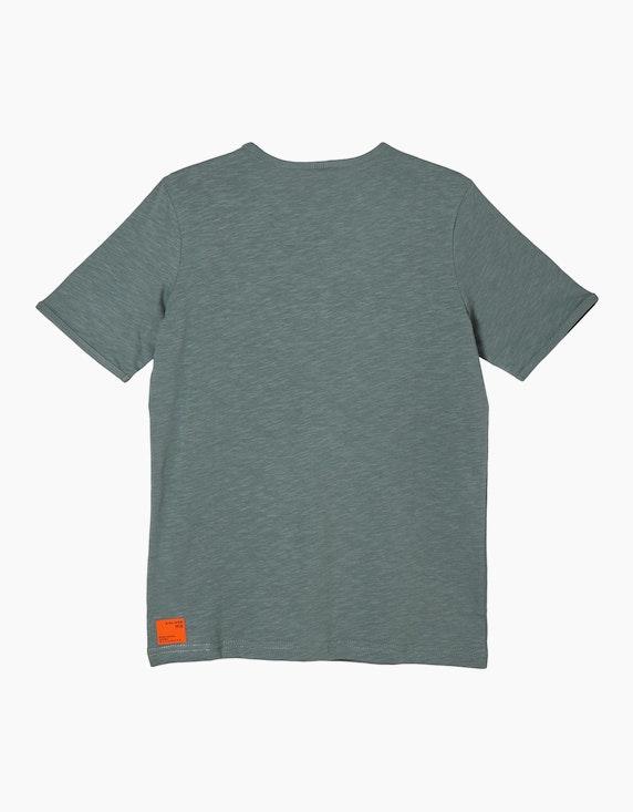 s.Oliver Boys T-Shirt mit Flammgarnstruktur | ADLER Mode Onlineshop