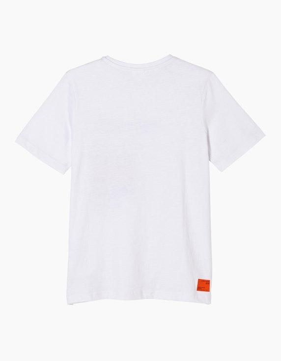 s.Oliver Boys T-Shirt mit Statement-Print | ADLER Mode Onlineshop
