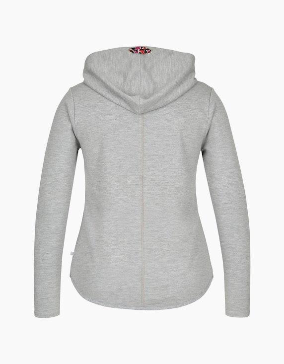 MY OWN Shirt mit Kapuze und Melange-Effekt | ADLER Mode Onlineshop