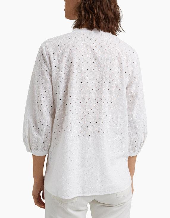 Esprit Bluse mit Lochstickerei aus Organic Cotton | ADLER Mode Onlineshop