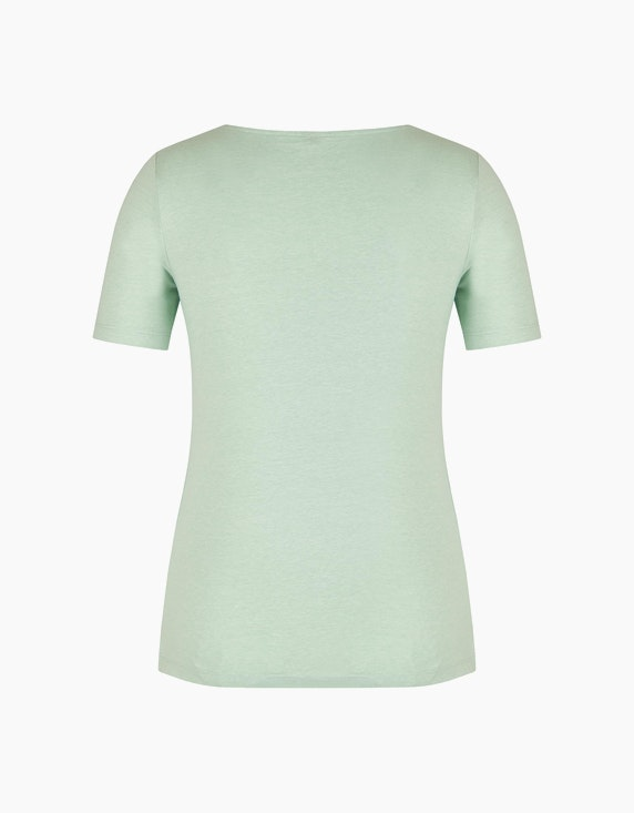 Bexleys woman Melange-Shirt mit Organic Cotton | ADLER Mode Onlineshop