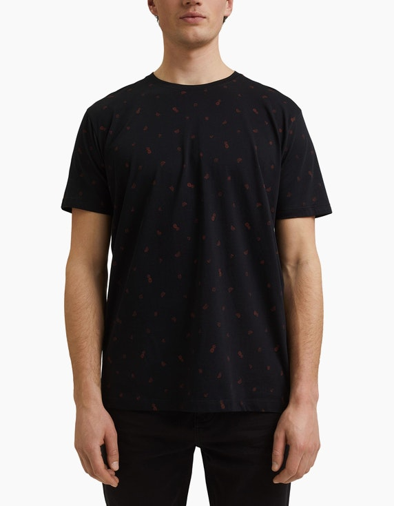 Esprit EDC T-Shirt mit Allover-Print | ADLER Mode Onlineshop