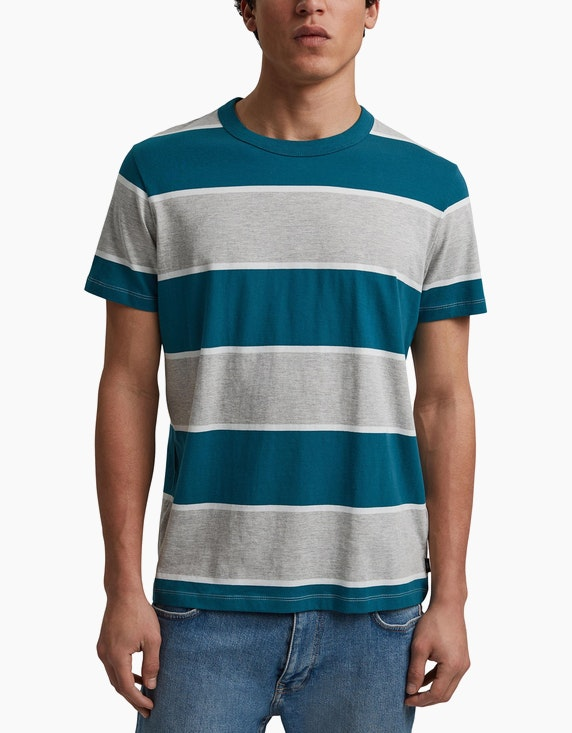 Esprit EDC T-Shirt mit Blockstreifen   ADLER Mode Onlineshop