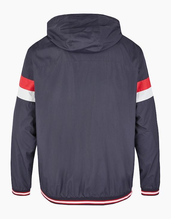 Big Fashion Jacke mit Kapuze und Streifendetails | ADLER Mode Onlineshop