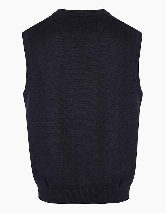 Bexleys man Pullunder mit Jacquard-Muster | ADLER Mode Onlineshop