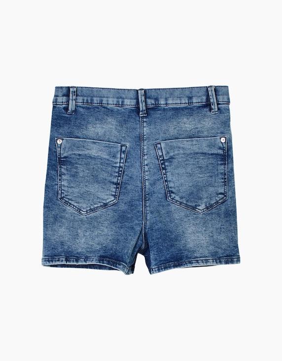 s.Oliver Girls Jeansshorts mit hohem Bund | ADLER Mode Onlineshop