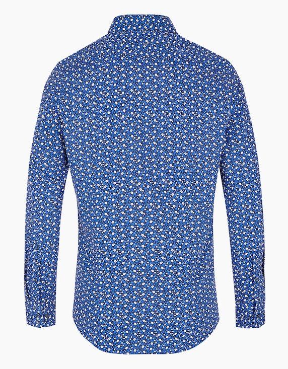 Seidensticker Florales Dresshemd im Alloverprint, SLIM FIT   ADLER Mode Onlineshop