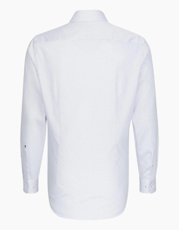 Seidensticker Modisch gemustertes Dresshemd, SLIM FIT   ADLER Mode Onlineshop