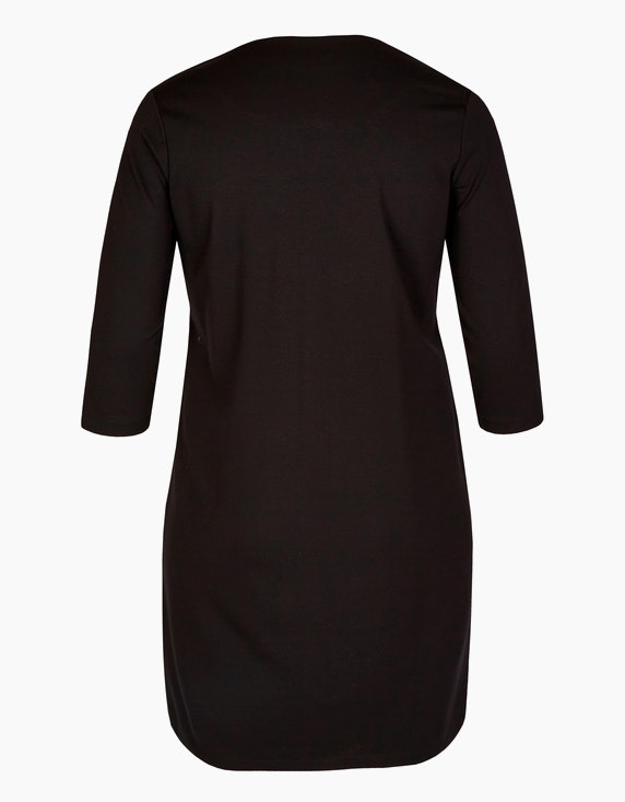 VIA APPIA DUE Kleid mit Galonstreifen | ADLER Mode Onlineshop
