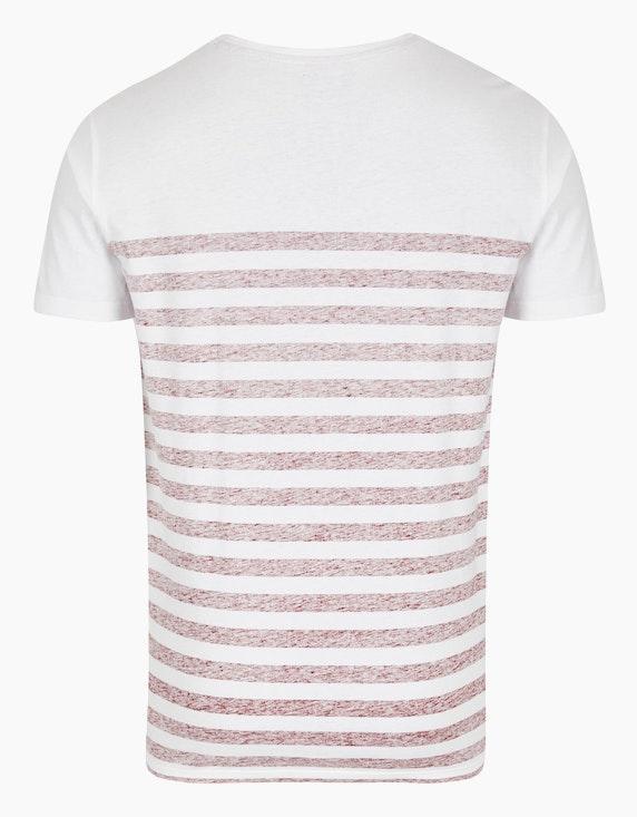 Via Cortesa T-Shirt mit Streifen-Muster | ADLER Mode Onlineshop