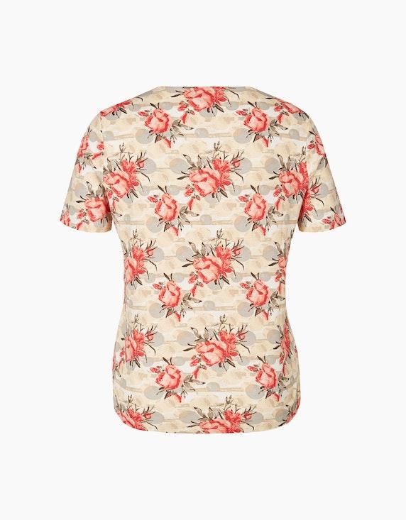 Malva Shirt mit floralem Print | ADLER Mode Onlineshop