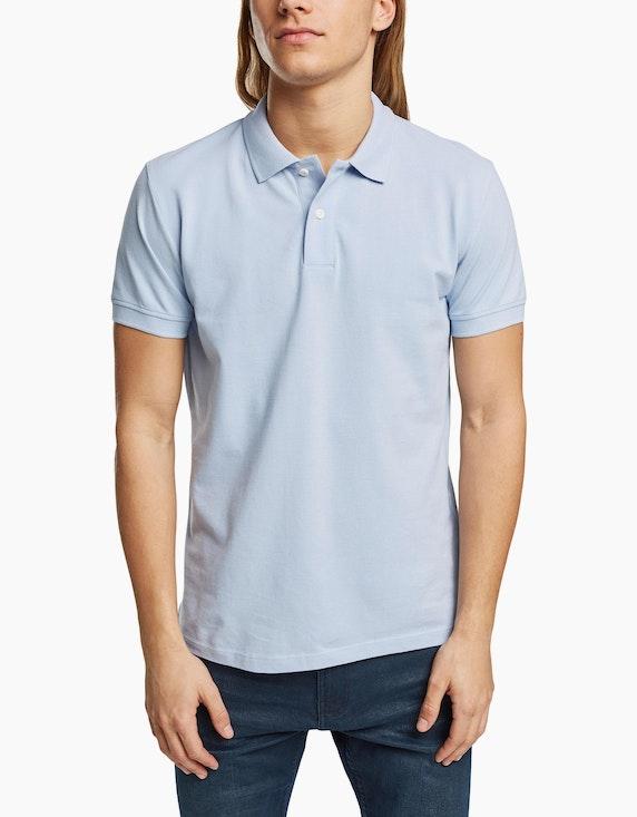 Esprit EDC Piqué-Poloshirt aus Organic Cotton | ADLER Mode Onlineshop
