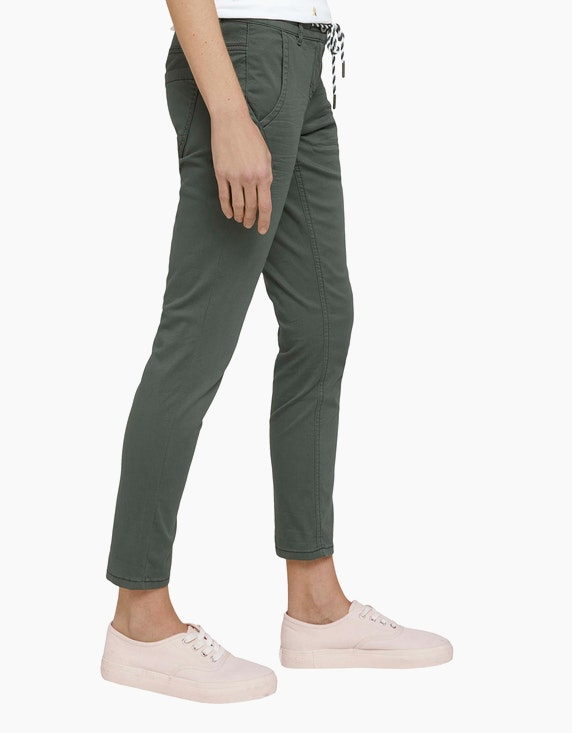 Tom Tailor Tapered Relaxed Hose mit Kordelzug | ADLER Mode Onlineshop