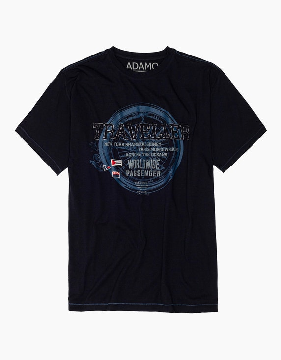 Big Fashion T-Shirt mit Frontdruck   ADLER Mode Onlineshop