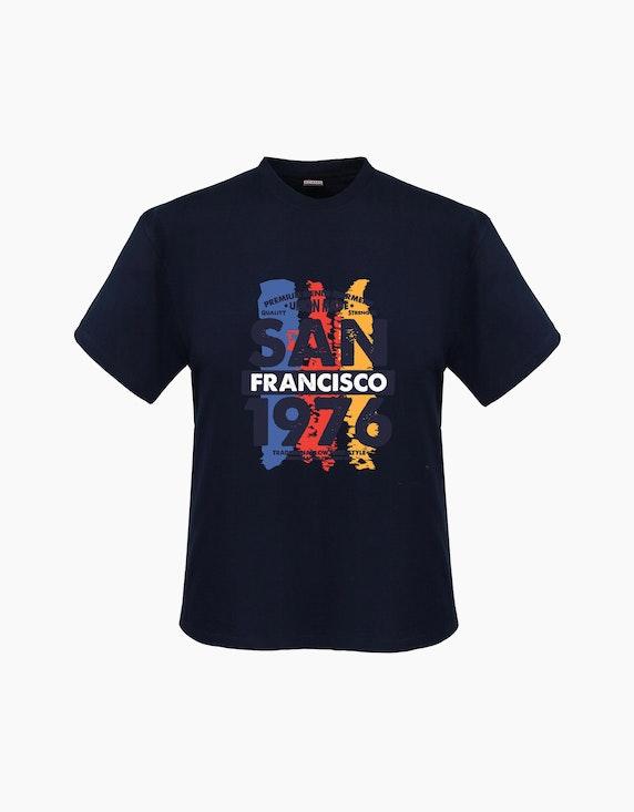 Big Fashion T-Shirt mit Frontdruck | ADLER Mode Onlineshop