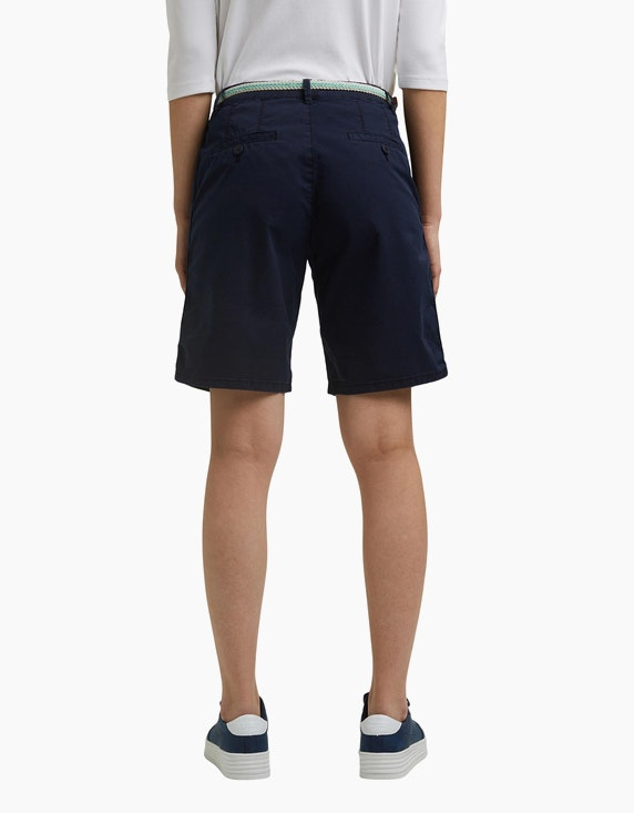 Esprit Bermuda-Shorts mit Gürtel, Baumwoll-Stretch | ADLER Mode Onlineshop