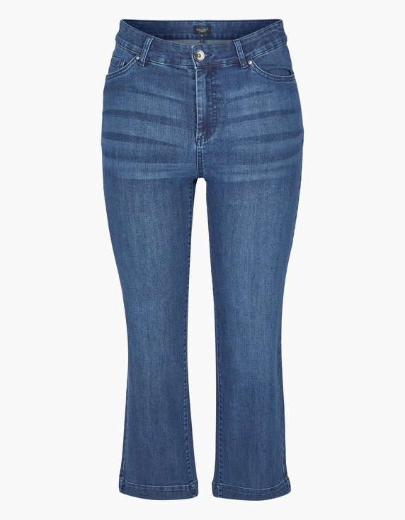 Bexleys woman Cropped Jeans in Blue Denim | ADLER Mode Onlineshop