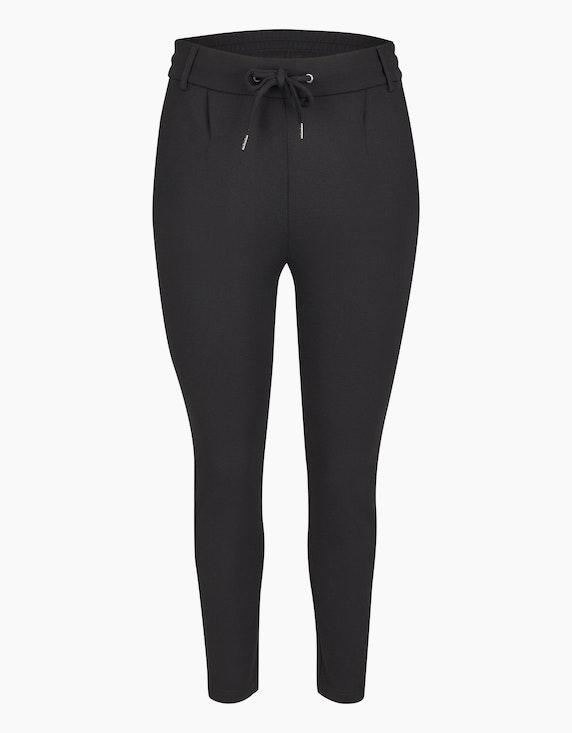 Bexleys woman Joggpants mit Bundfalten in Schwarz | ADLER Mode Onlineshop