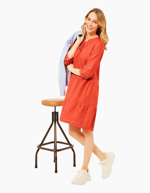 CECIL Leinen-Kleid im Tunika-Style | ADLER Mode Onlineshop