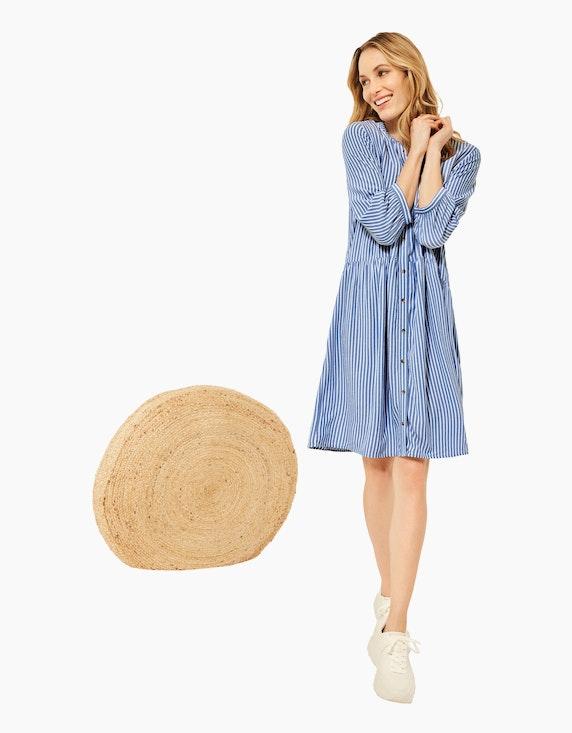 CECIL Seersucker-Kleid im Streifen-Look | ADLER Mode Onlineshop