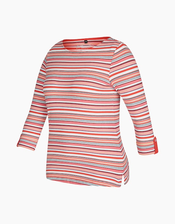 Bexleys woman Shirt mit Streifenmuster | ADLER Mode Onlineshop