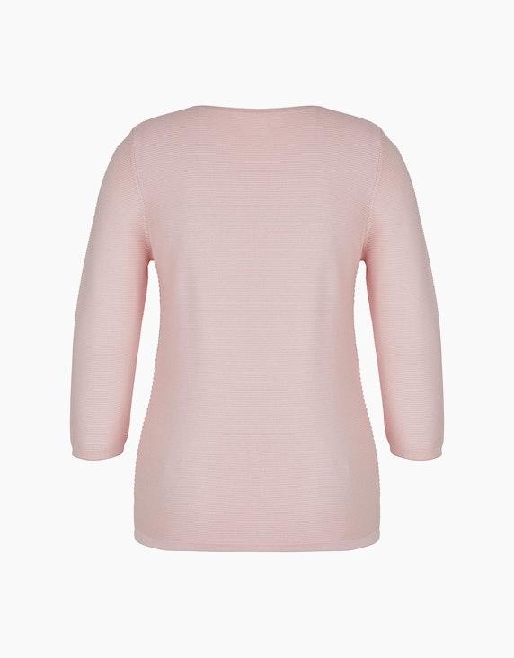 Bexleys woman Pullover mit Strukturstreifen und Strass | ADLER Mode Onlineshop