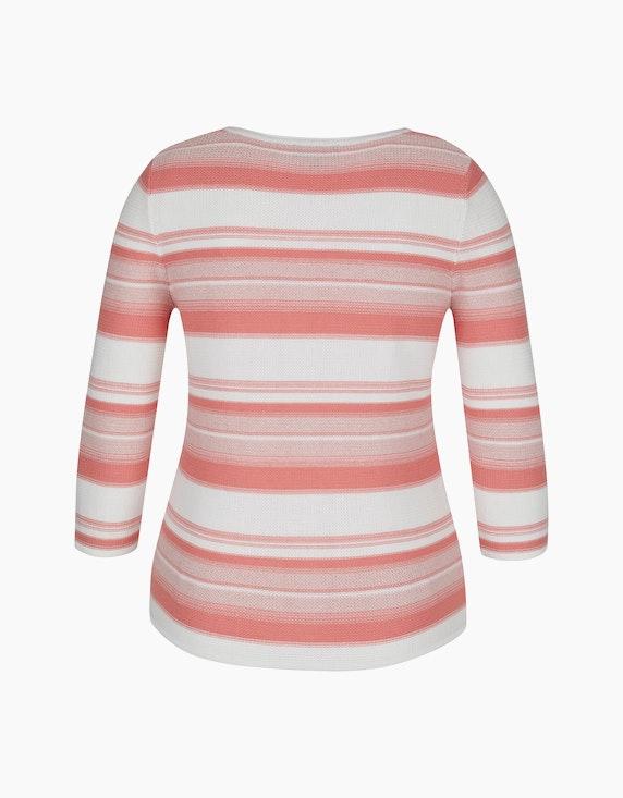 Bexleys woman Streifenpullover mit Ärmeln in 3/4 Länge | ADLER Mode Onlineshop