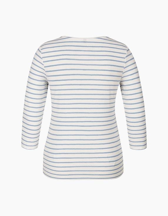 Bexleys woman Gestreiftes Shirt mit Herz-Druck | ADLER Mode Onlineshop