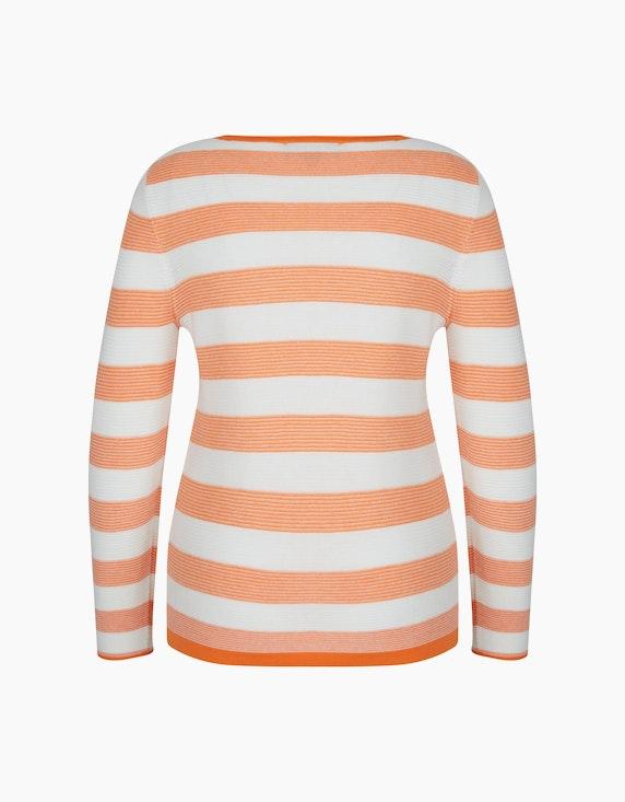 Bexleys woman Streifenpullover mit Strassbesatz | ADLER Mode Onlineshop