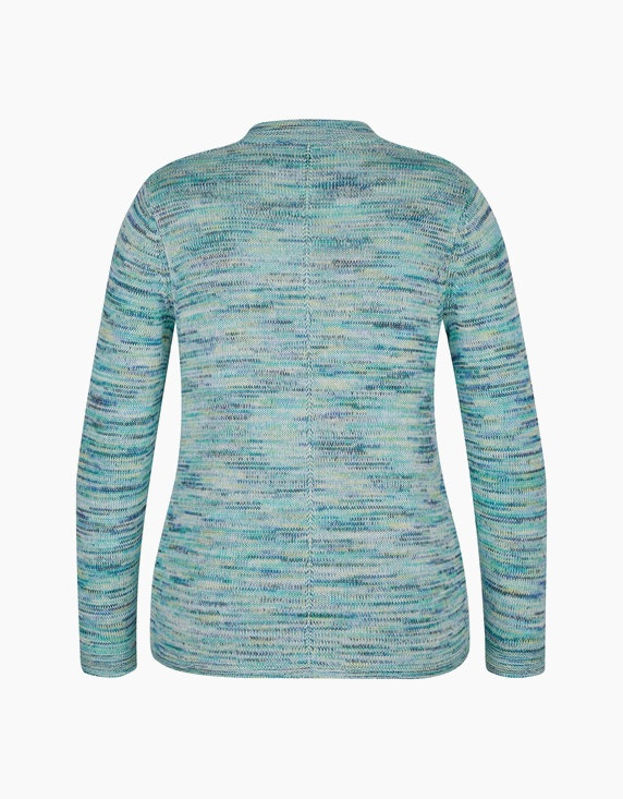 Bexleys woman Strickjacke mit Space-Dye-Effekt | ADLER Mode Onlineshop