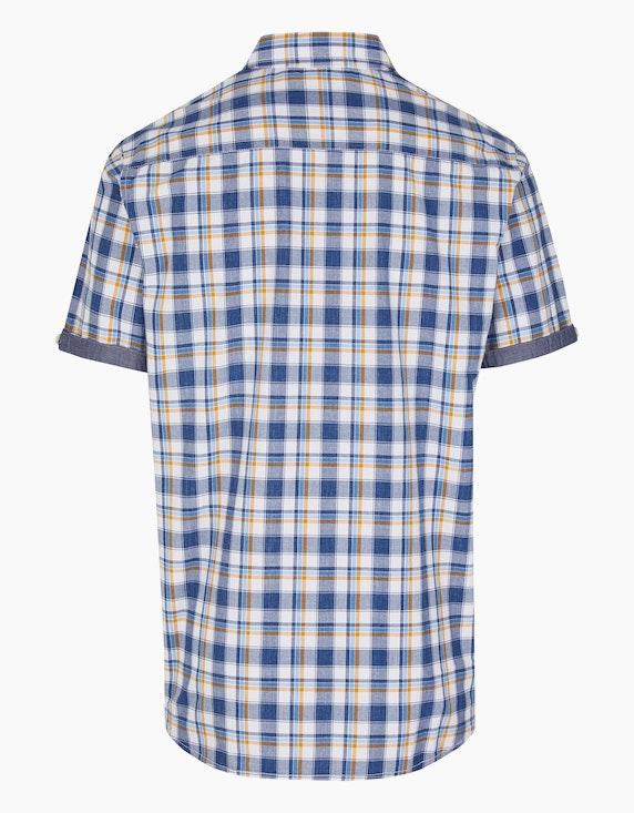 Eagle Denim Karo-Hemd aus Baumwolle | ADLER Mode Onlineshop
