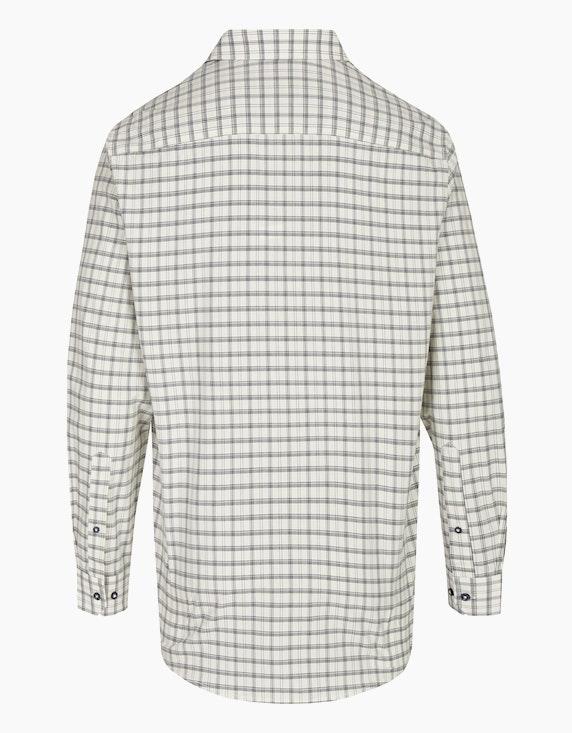 Bernd Berger Kariertes Dresshemd mit Langarm, REGULAR FIT | ADLER Mode Onlineshop