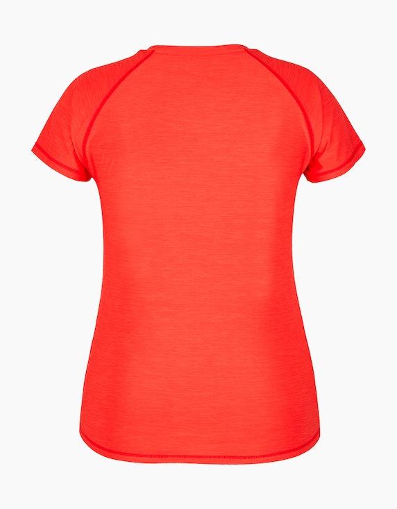 Fit&More Fitness-Shirt mit Melange-Effekt | ADLER Mode Onlineshop