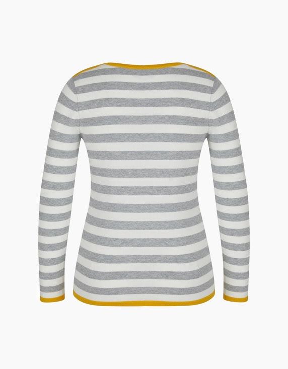 Bexleys woman Pullover mit dekorativen Ösen am Ausschnitt | ADLER Mode Onlineshop