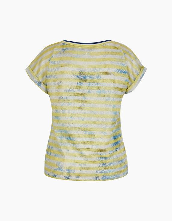 Steilmann Woman Shirt im Material- und Muster-Mix | ADLER Mode Onlineshop