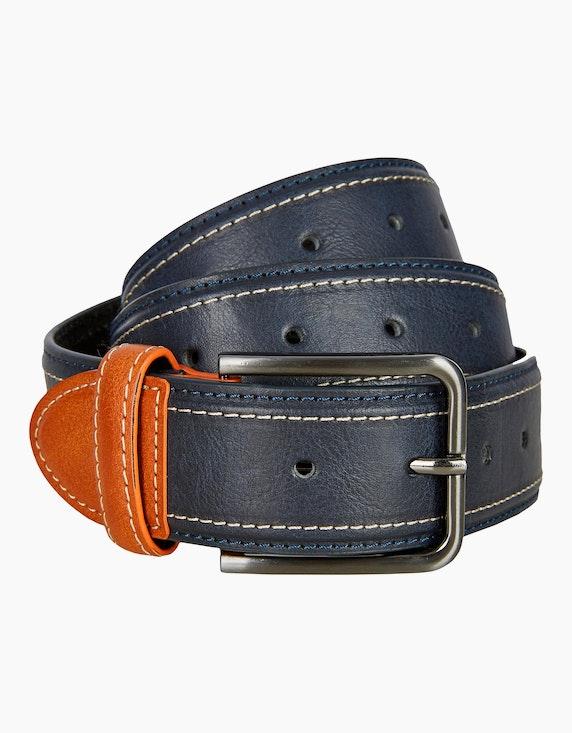 Bexleys man Gürtel aus Leder und Lederimitat | ADLER Mode Onlineshop