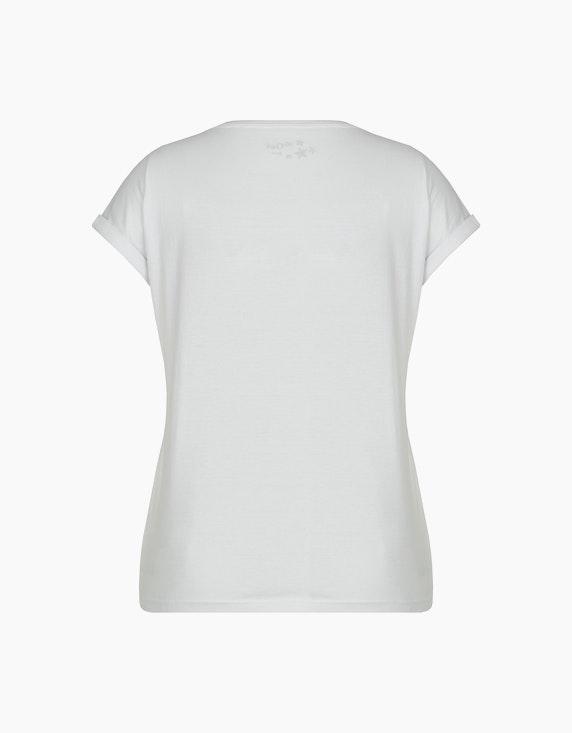 MY OWN Shirt mit Lochstickerei aus reiner Baumwolle | ADLER Mode Onlineshop