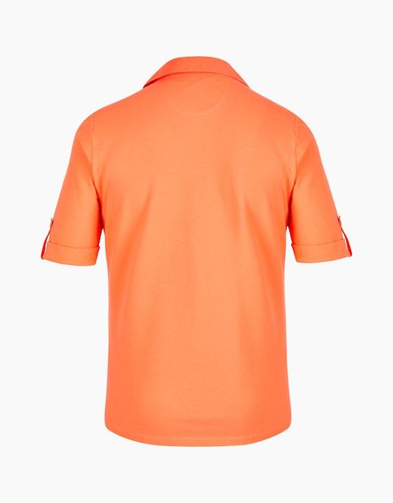 VIA APPIA DUE Sportives Poloshirt mit Brusttaschen | ADLER Mode Onlineshop