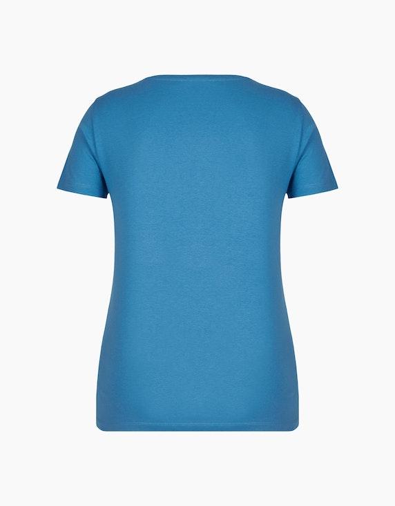 MY OWN Shirt mit Schmetterlingsdruck und Ziersteinen | ADLER Mode Onlineshop