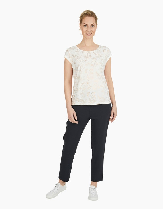 Viventy Shirt mit Folienprint   ADLER Mode Onlineshop