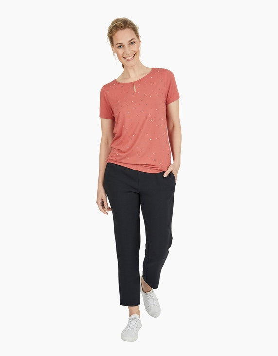 Viventy Kurzarmshirt mit Strasssteinen   ADLER Mode Onlineshop