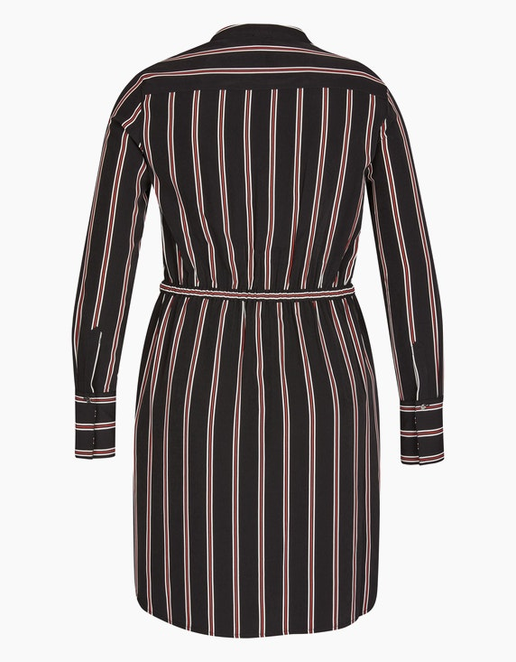 Viventy Streifen-Kleid mit Gürtel   ADLER Mode Onlineshop