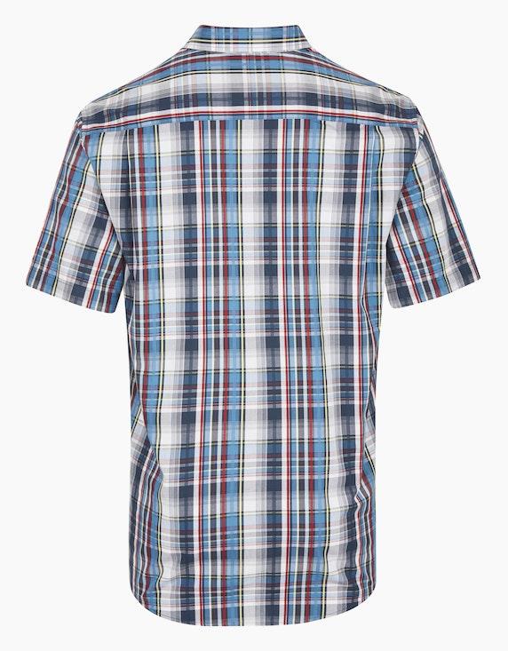 Bexleys man Schickes Freizeithemd im Karo-Dessin, REGULAR FIT | ADLER Mode Onlineshop