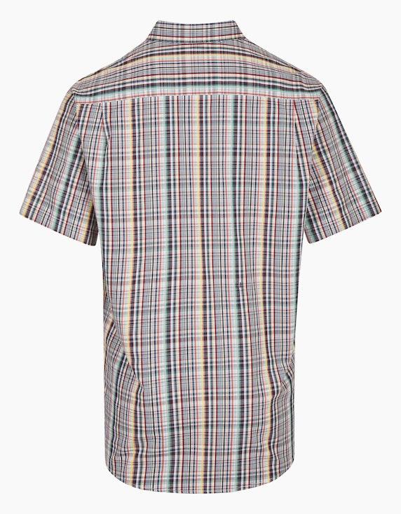 Bexleys man Freizeithemd im Multicolor-Karodessin, REGULAR FIT | ADLER Mode Onlineshop