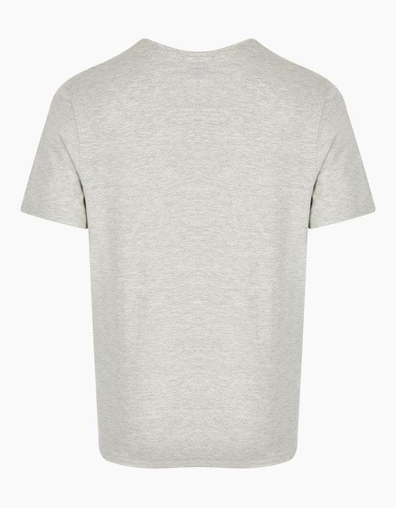 Bexleys man T-Shirt mit Brustdruck | ADLER Mode Onlineshop