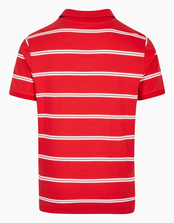 Bexleys man Gestreiftes Poloshirt in Single-Jersey | ADLER Mode Onlineshop